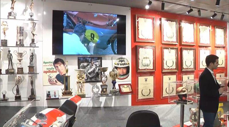 A Bergamo apre la Sala dei Trofei del campione Giacomo Agostini